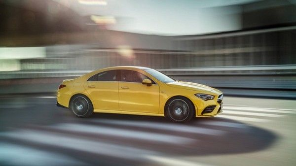 Mercedes-AMG-CLA-35-on-road