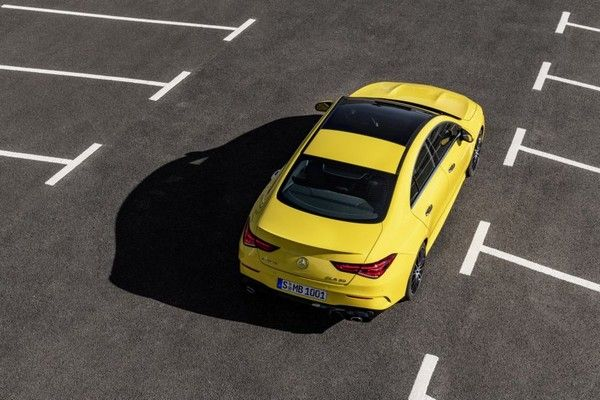 Mercedes-AMG-CLA-35-in-car-park