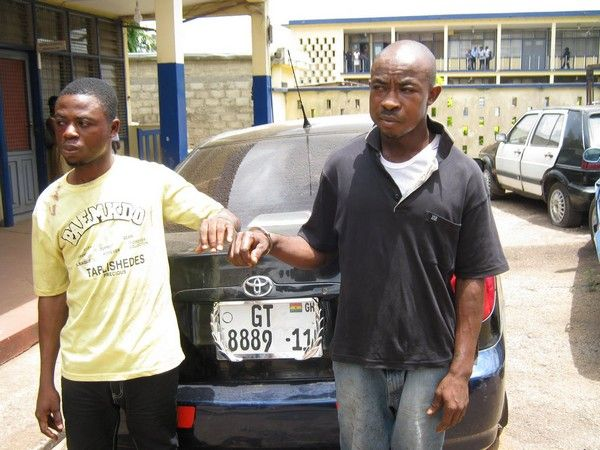 arrested-car-snatchers-in-Ghana