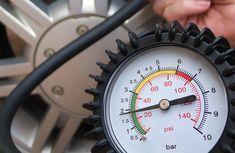 a pressure gauge