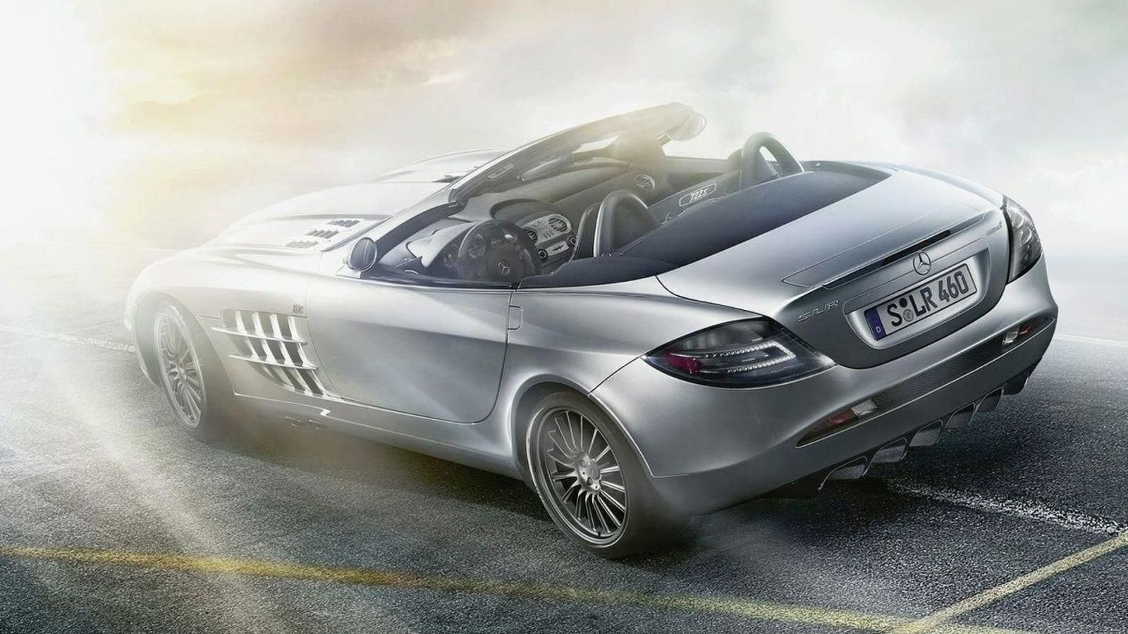 The Mercedes SLR Mclarenangulat rear