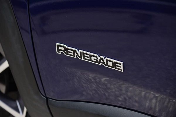 a-renegade-badge-on-car's-body