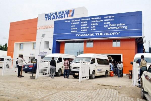 Peace-mass-transit-ajah-bus-terminal