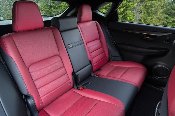 red-colored-rear-seats