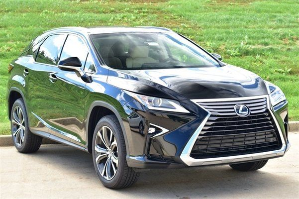 a-lexus-RX350-suv-parked-by-the-road-side