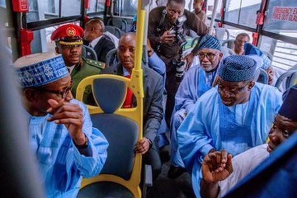 President-buhari-commissions-820-medium-high-capacity-transport-buses