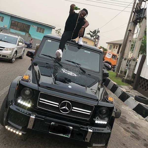 Benz-SUV-with-Zorro