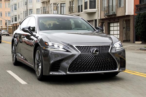 a-lexus-car-cruising-on-the-street