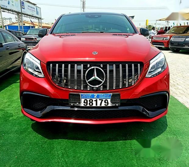 Mercedes-Benz GLE-Class 2017 Red For Sale