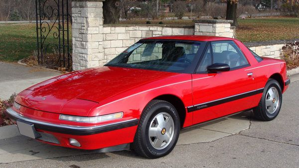 Red-Buick-reatta-coupe-front-view