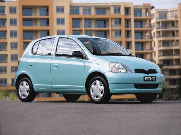Parked-Toyota-Echo