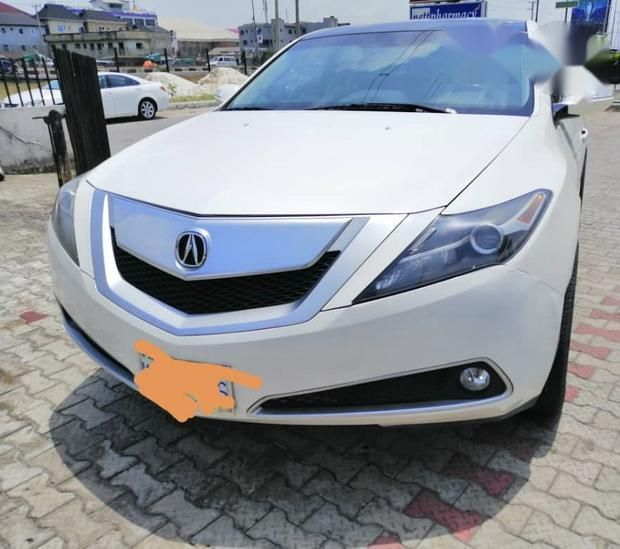 Acura ZDX 2011 White For Sale
