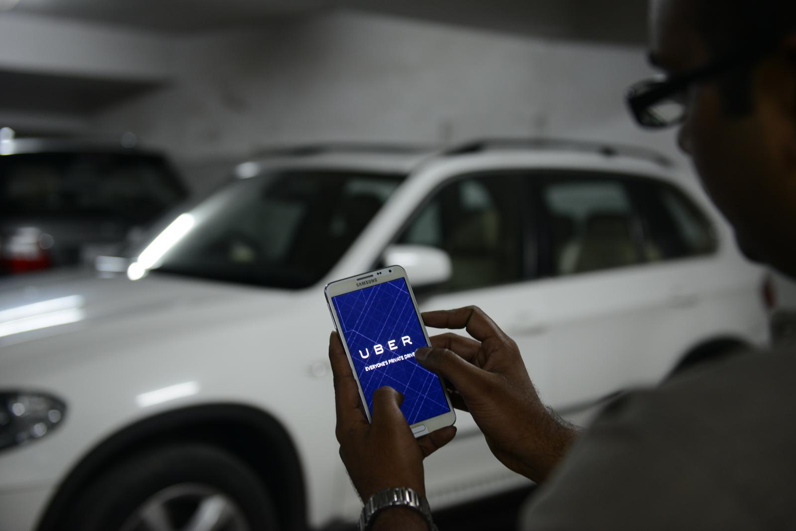 Uber-ride-hailing-app