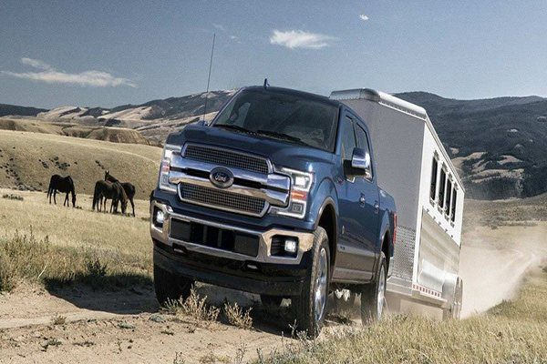 F-150-towing-a-trailer