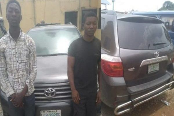 Two-arrested-suspects-of-houseboy-conspired-car-theft
