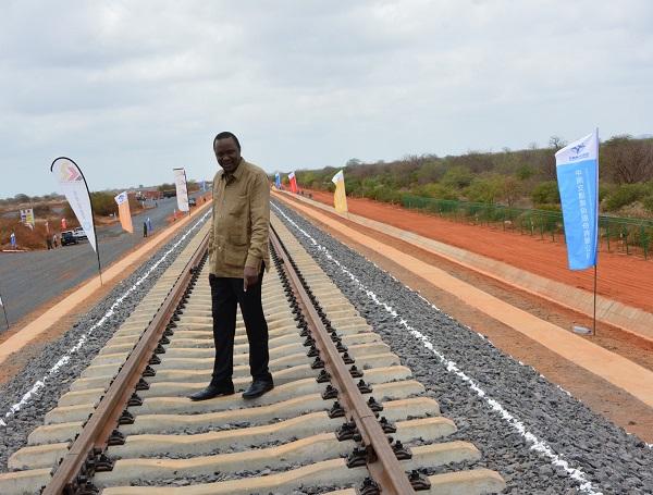 Man-on-railway