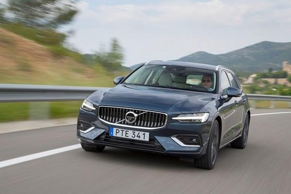 Volvo-car-on-road