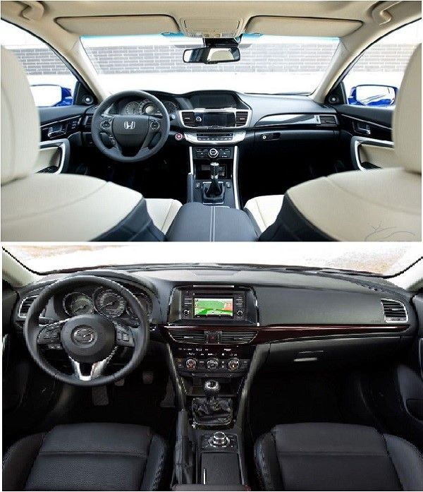 The-2013-Honda-Accord-cockpit-(Top)-and-the-2013-Mazda-6-cockpit-(Bottom)