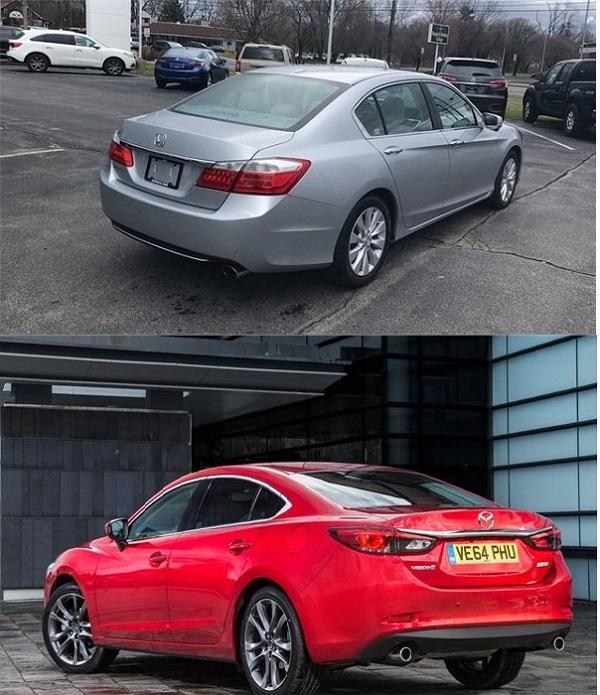 2013-Honda-Accord-and-2013-Mazda-6-back-views