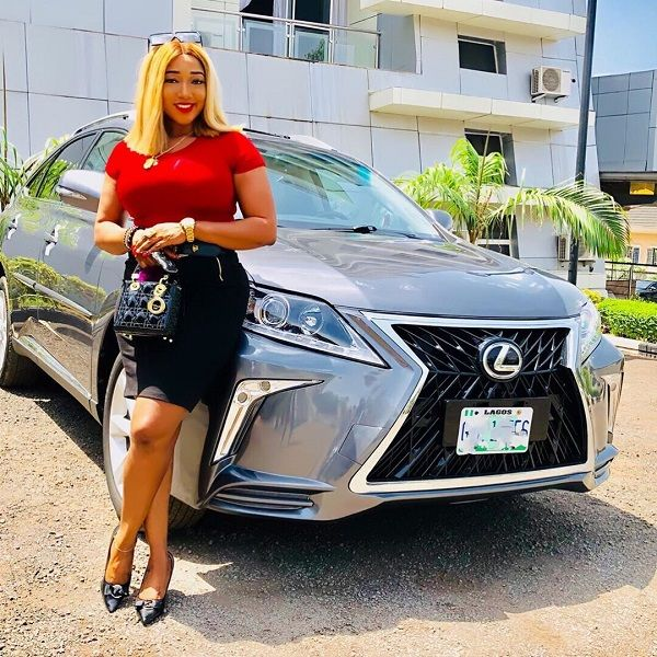 Christabel-Egbenya-and-2019-Lexus-UX-SUV