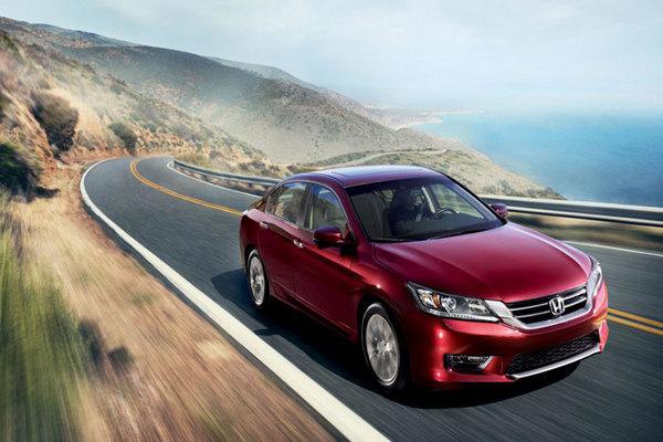 Honda-Accord-on the-road