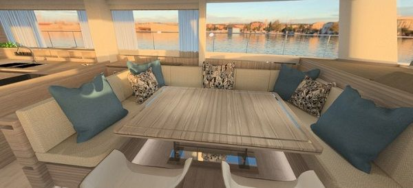 Dining-area-of-yacht