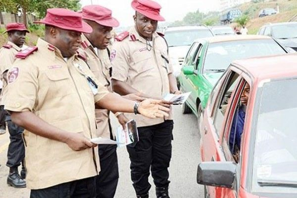 FRSC-officers-checking-the-driver-s-license