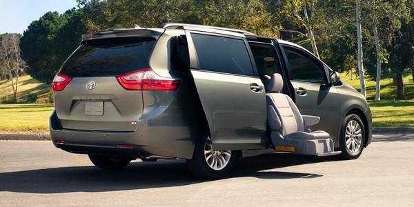 Minivan-parked
