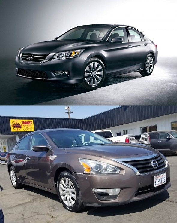 2013-Honda-Accord-and-the-2013-Nissan-Altima-front