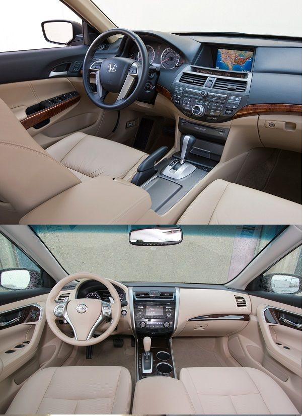 2013-Honda-Accord-and-Nissan-Altima-cockpit