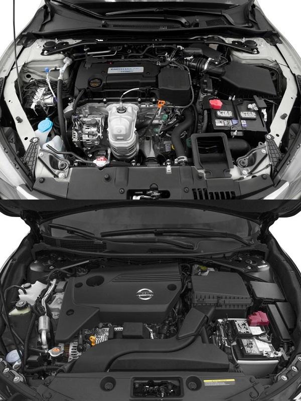 Engines-2013-models-of-honda-accord-and-nissan-altima