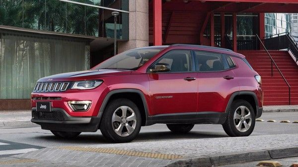 a-red-SUV