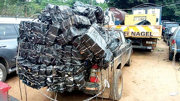 image-of-smugglers-vehicle-in-lagos