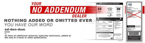 Dealership-addendum-label
