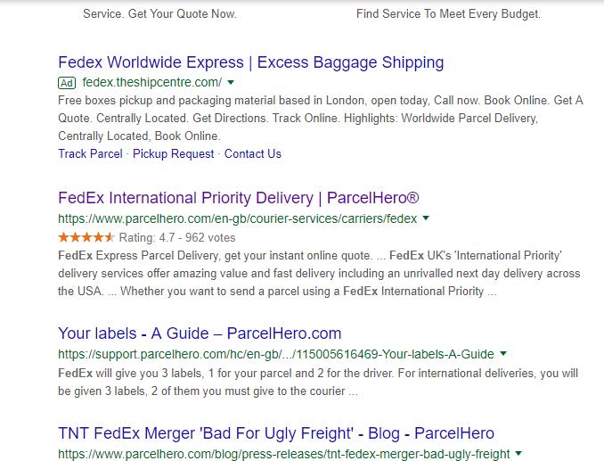 Fedex-ratings-on-parcelhero