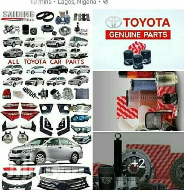 Toyota Car Parts >> Toyota Spare Parts Dealers In Lagos Naijauto Com