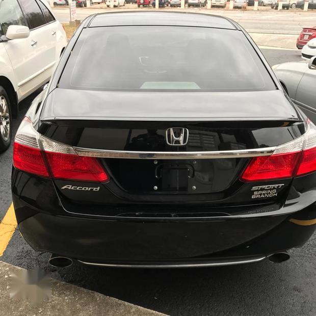 Selling Black 2014 Honda Accord Automatic At Price ₦