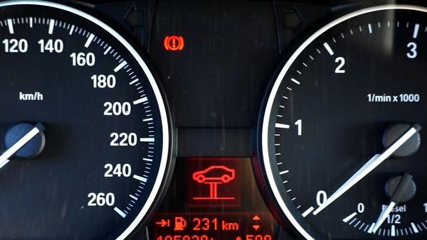 Brake-warning-light