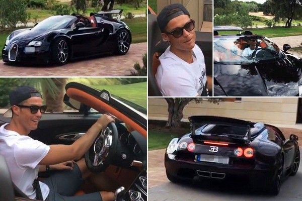 Cristiano Ronaldo Bought The Most Expensive Car In The World