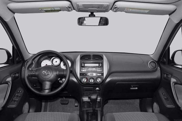 the-dashboard-of-Toyota-RAV4-2004
