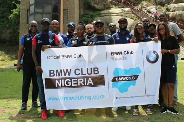 BMW-Club-Nigeria-members-group-photo