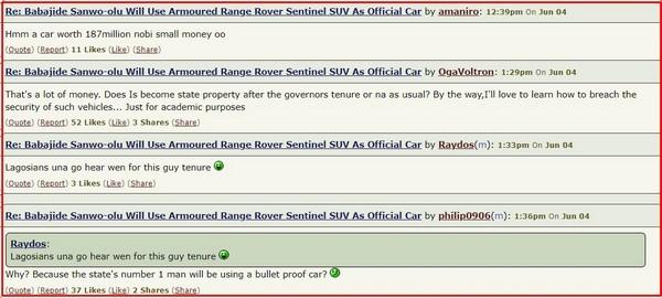 reaction-to-sanwo-olu-range-rover