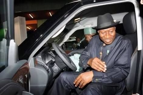 Goodluck-Jonathan-and-his-Innoson-car
