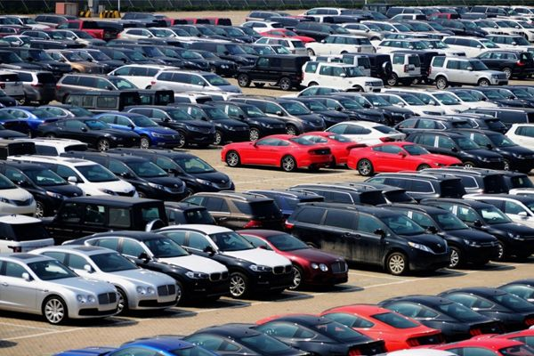 Imported-Cars-waiting-to-be-cleared-at-Nigeria-port