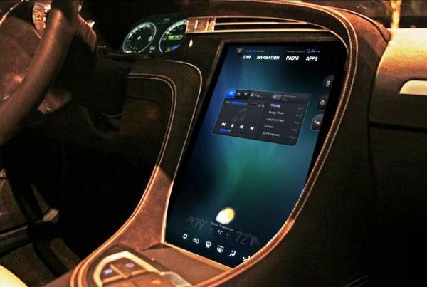 Car-touch-screen