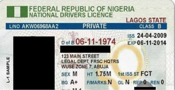 Nigeria-drivers-licence