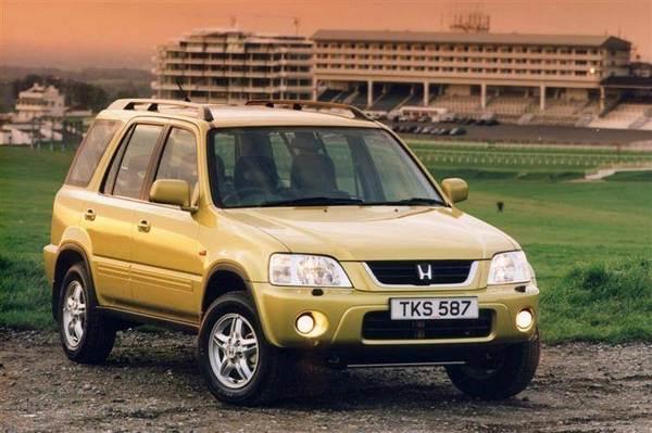 Yellow-Honda-CRV