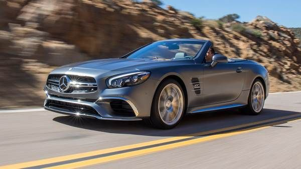 Mercedes-AMG-SL65-at-running-on-road