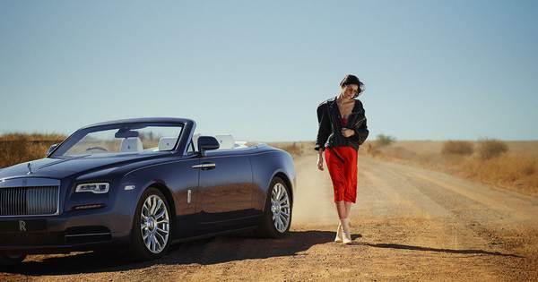 Rolls-Royce-Dawn-and-a-lady