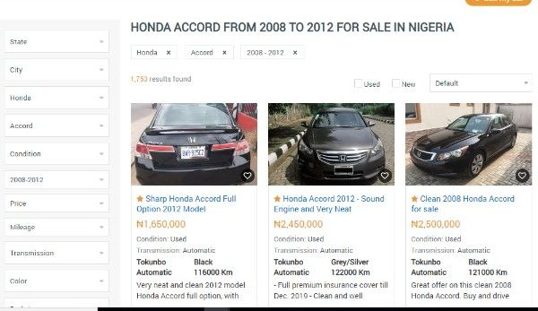 honda-accord-evil-spirit-listing-on-naijauto